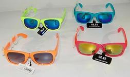 72 Pack Kids Neon Party Sunglasses 100% UVA UVB Protection
