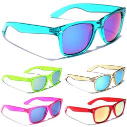 80's Retro Classic Sunglasses Men Women Translucent Glasses