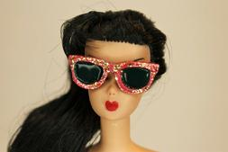 Barbie & Pals Vintage Style RESIN Glitter Sunglasses by RETR