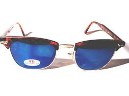 eyez Brand Sunglasses Tortoise Shell with Gold Wire Rims Ret