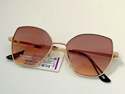 A New Day Gold Women's Cat Eye Sunglasses 100% UV Protection