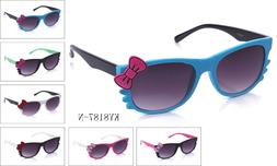Hello Kitty Women's Sunglasses with Bow Party Multi Color Co
