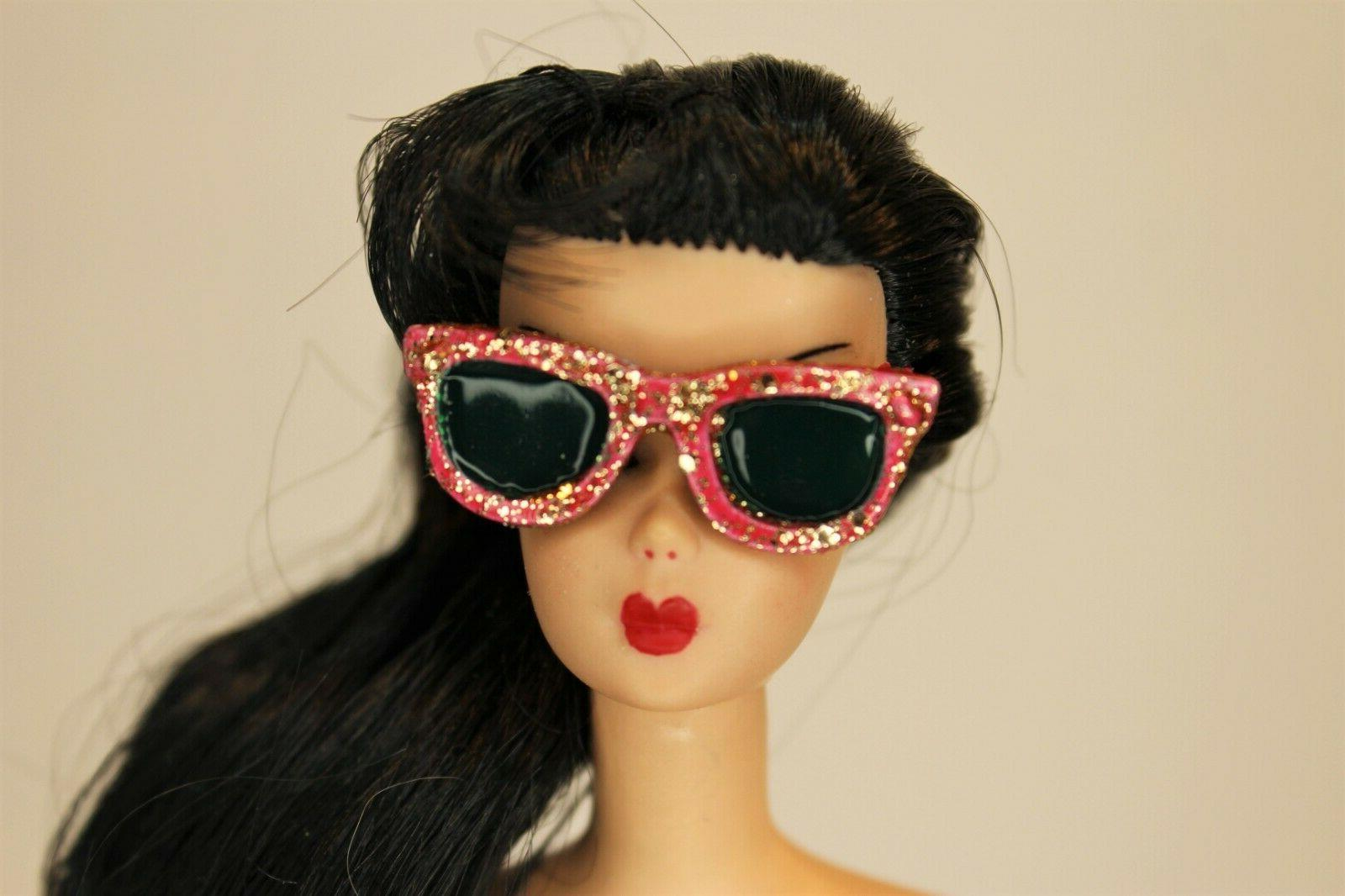 barbie and pals vintage style resin glitter