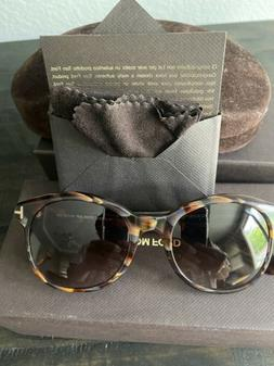 New Tom Ford Women Sunglass- Color Brown- Made In Italy- Pri