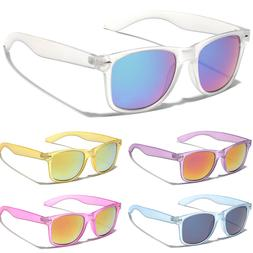 Stylish Frosted Frame Retro horn rimmed Fashion Sunglasses M