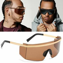 Trendy 2020 Mens Sports Goggles Oversized Driving Sunglasses